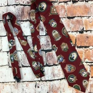 BEANS MCGEE MENS GOLF LOVERS GOLF THEMED NECK TIE
